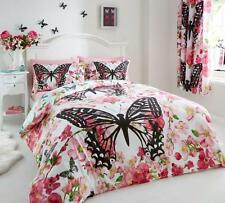 Modern Floral Butterfly Duvet Cover Sets
