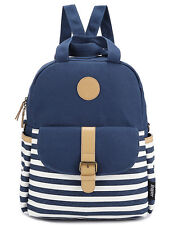Cute Thickened Canvas Laptop Bag Shoulder Daypack School Travel Backpack Handbag