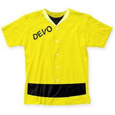 Devo New Wave Music Group Duty Now Adult Fitted Jersey T-Shirt Tee