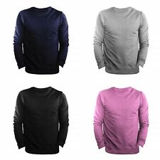 FLOSO Mens Slim Fit British Made Sweatshirt (240gsm)