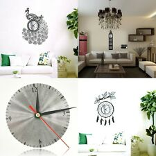 Fashion Modern DIY Wall Clock 3D Sticker Art Design Home Office Room Decor New