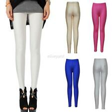 New Sexy Women Skinny PU Leather Pants Jeggings Stretch Slim Leggings Trousers