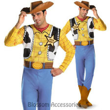 CL860 Disney Toy Story 3 Cowboy Woody Classic Fancy Dress Up Adult Mens Costume