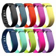 10x Small Large Replacement Wrist Band Wristband for Fitbit Flex with Clasps New