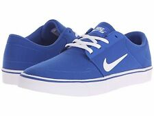 NIKE SB PORTMORE CANVAS 2016 ROYAL WHITE MENS SKATE SHOES ** FREE POST AUSTRALIA