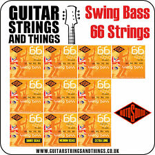 Rotosound SWING BASS 66 Stainless Steel 4 String Bass Guitar Strings