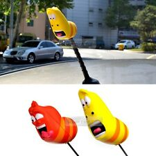 Car Accesorry Larva Character Rear Bonnet Antena Topper Ball for All Vehicles