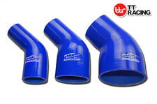 4 Ply 45 Degree Silicone Elbow Bend Hose Silicone Coolant Radiator Pipe