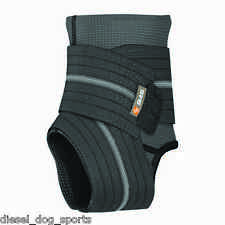 SHOCK DOCTOR 845 ANKLE BRACE SLEEVE WITH COMPRESSION STRAPS (Level 2 Support)