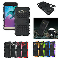 For Samsung Galaxy J3 2016 J320 Ultimate Hybrid Shockproof Armor Case Cove Stand