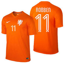 NIKE ARJEN ROBBEN NETHERLANDS HOME JERSEY FIFA WORLD CUP BRAZIL 2014 HOLLAND