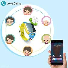New Kids Cute Safety Phone Locator GPS SOS LBS SMS Smart Watch Tencent QQWatch