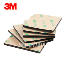 3M EVA Foam Double Sided Adhesive Tape Pad Mounting Tape 54mmx44mmx3.2mm Black