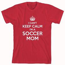 I Can't Keep Calm I'm A Soccer Mom Shirt, soccer league, gift idea - ID: 426