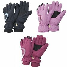 Ladies/Womens Thinsulate Extra Warm Thermal Padded Winter/Ski Gloves With Palm G