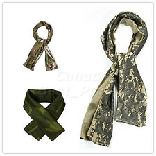 Tactical Camouflage Fish Net Sniper Cover Head Scarf Veil Face Mesh Neckerchief
