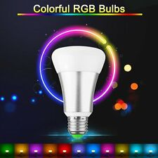 RGBW E27 10W LED Spot Light Bulb Remote Control Colour Changing Lamp AC 85-265V