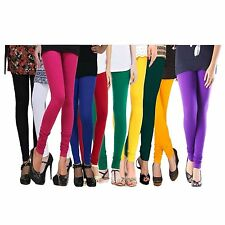 Women Leggings Cotton Lycra 4 way stretchable RED,BLACK,AllSizes & Color Choices