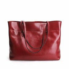 Stylish Glossy Leather Women Handbags Large Shopping Shoulder Bag Beach Tote