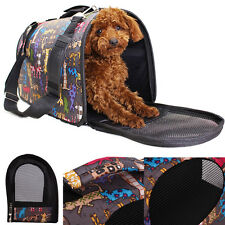Portable Pet Dog Cat Puppy Travel Carrier Case Folding Cage Tent Tote Bag Size S