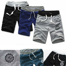 Fashion Summer Mens Cotton Casual Gym Sports Pants Shorts Trousers Pants New