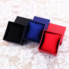 1pc Present Gift Boxes Case For Bangle Jewelry Ring Earrings Wrist Watch Box