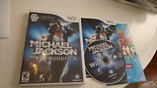 Michael Jackson: The Experience (Nintendo Wii, 2010) Complete