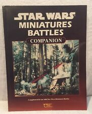 Star Wars RPG: Miniature Battles Companion SC (West End Games) 1st Ed, 1994