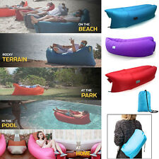 Fast Inflatable Portable Air Bag Lamzac Sofa Home Camping Travel Swim Sleeping