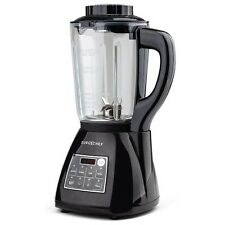 NEW EUROCHEF Glass Soup Maker- Blender Kettle Hot Cold Processor LCD Stainless