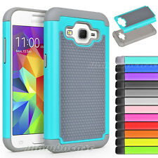 Hybrid Rubber Hard Case Cover for Samsung Galaxy Core Prime Prevail LTE G360