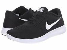 NIKE FREE RN 2016 BLACK ANTHRACITE WHITE WOMENS RUNNING SHOES ** ALL SIZES
