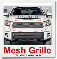 Fits 2014-2016 Toyota Tundra Stainless Steel Mesh Grille Insert