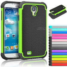 Hybrid Rugged Rubber Matte Hard Case Cover for Samsung Galaxy S4 S IV I9500