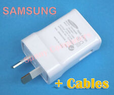 Original Samsung 2A AC Wall Charger AU Plug for Galaxy Note 5 4 3 N7100 + Cable