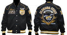 NEW! Ladies Alabama State University Hornets Fraternity Twill Button Up Jacket