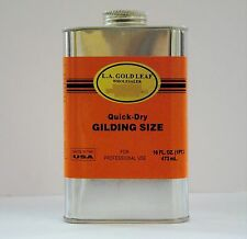 L.A. GOLD LEAF BRAND - Quick-Dry Gilding SIZE ADHESIVE  Oil Base  (Size:16 oz)