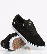 Emerica The Reynolds Low Vulc Skate Shoes in Black White All Sizes BNIB