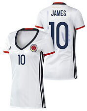 ADIDAS JAMES RODRIGUEZ COLOMBIA WOMEN'S HOME JERSEY 2015/16.