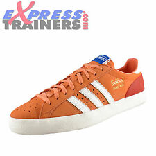 Adidas Originals Mens Basket Profi Lo Casual Leather Trainers Coral *AUTHENTIC*
