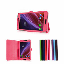 360°Rotating PU Leather Folio Flip Stand 7Inch Tablet Case Cover For ASUS FE375