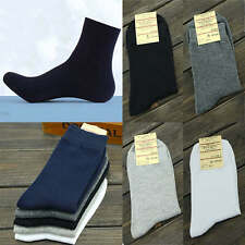 Lots 2/3/6/12 pairs Mens Ankle Socks Sport Foot Cotton Low Cut Crew One Size