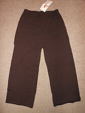 Bal Togs Chocolate Brown Dance Jazz Gaucho Clam Hip Hop Yoga Pants Adult S M & L