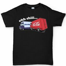Cola Crashes into Mentos Funny Mens Childrens New Xmas Gift T shirt Tee Top