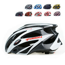 MOON Bicycle Road Mountain Cycling Bike Ultralight Helmet Cap Visor Protective