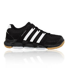 Adidas Team Spezial Court Mens Black Squash Trainers Sneakers Sports Shoes