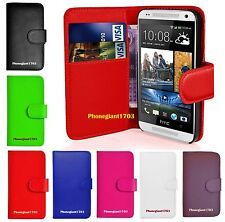 Book Wallet Flip Leather Stand Case Cover For Various HTC Desire Mobile Phones