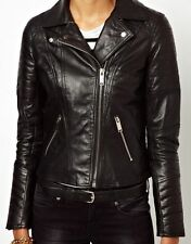 NEW Womens 100% Leather Lambskin Jacket Coat, Made to your Measurements - WJ77