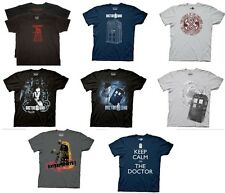 Choose from 6 different OFFICIAL Doctor Dr. Who T-shirts tees