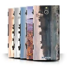 STUFF4 Back Case/Cover/Skin for Sony Xperia U/ST25i/Castle Fort